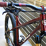 2020 Canfield Nimble 9 - Cherry Cola // Steel Hardtail