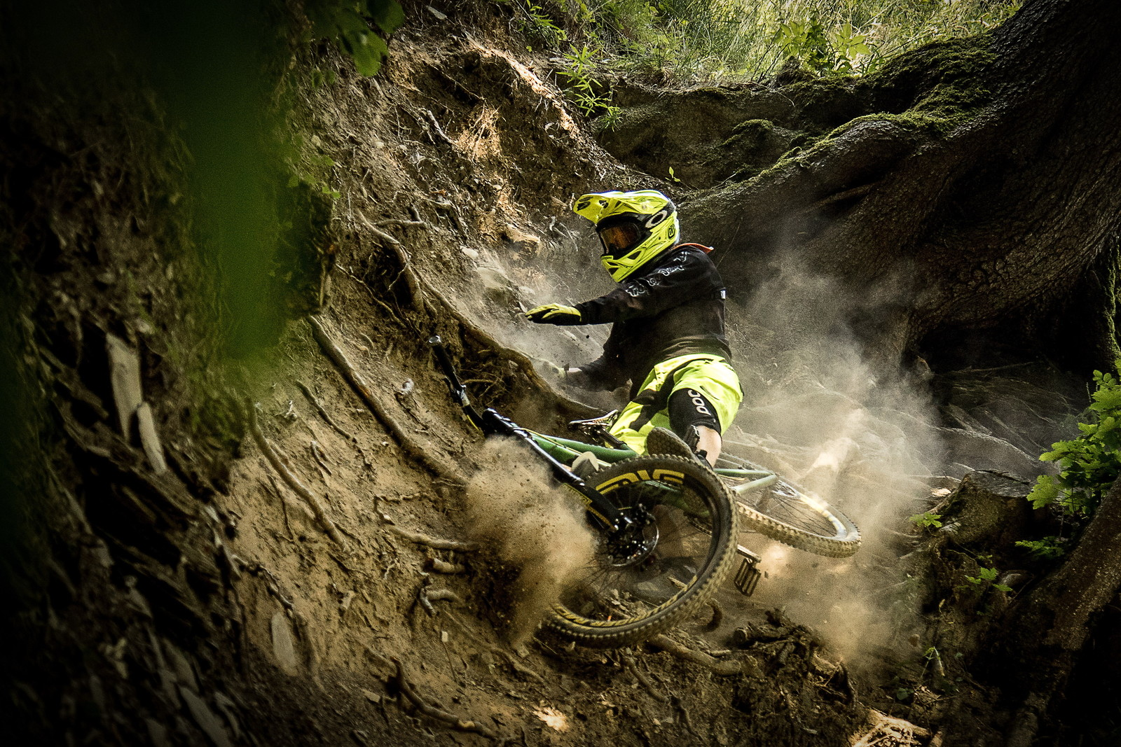 Worldcup track/Champery - Tiberius - Mountain Biking Pictures - Vital MTB