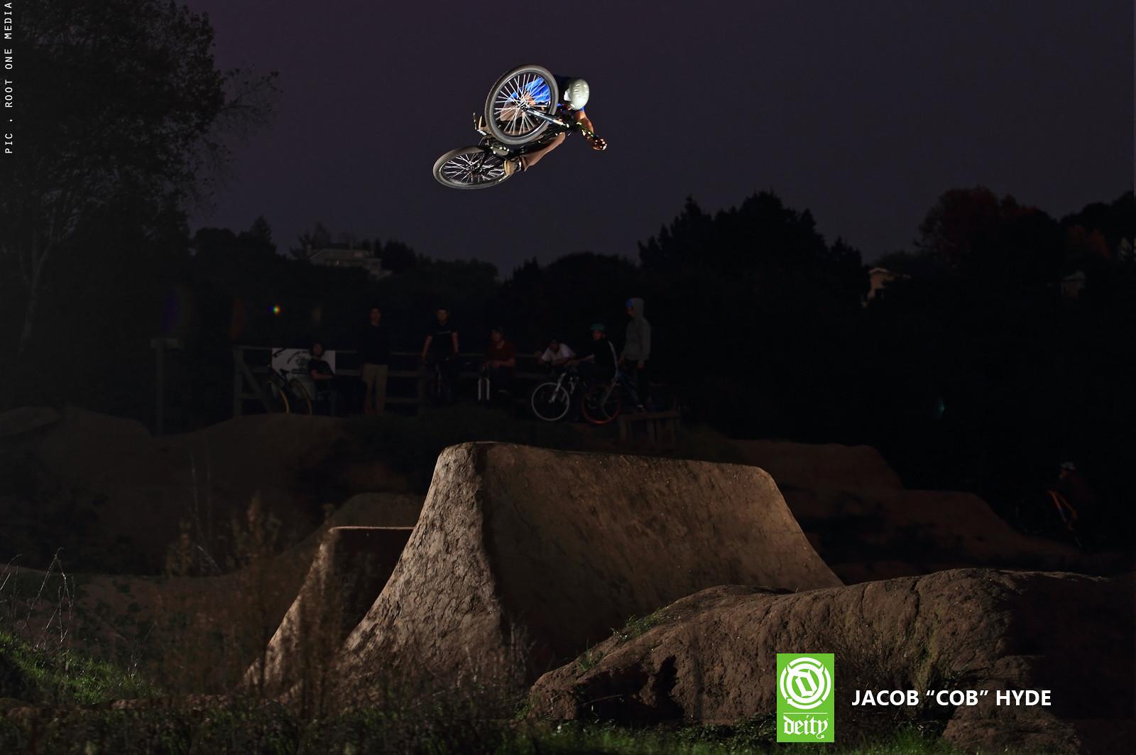 Cob Shredding The New Deity Cryptkeeper - JBrantley - Mountain Biking Pictures - Vital MTB