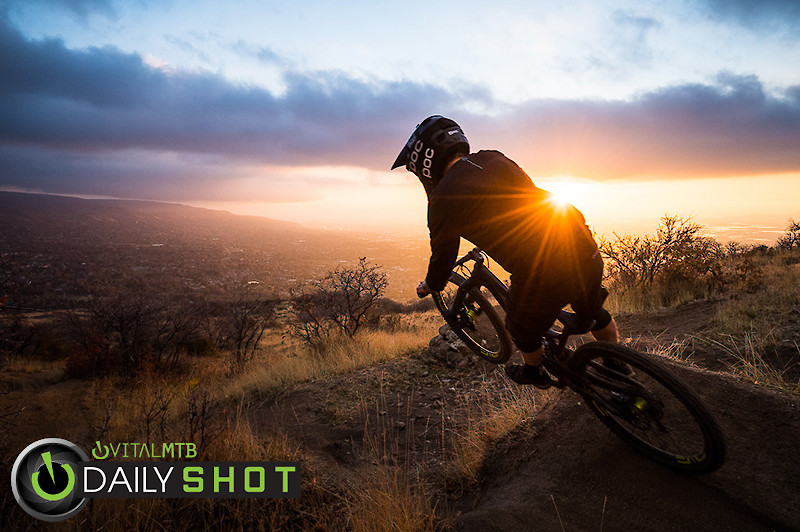 Sunset Sender - Conor_Barry - Mountain Biking Pictures - Vital MTB