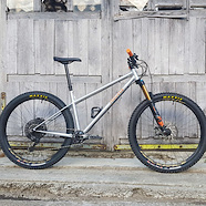 Aloueta custom hardtail enduro bike