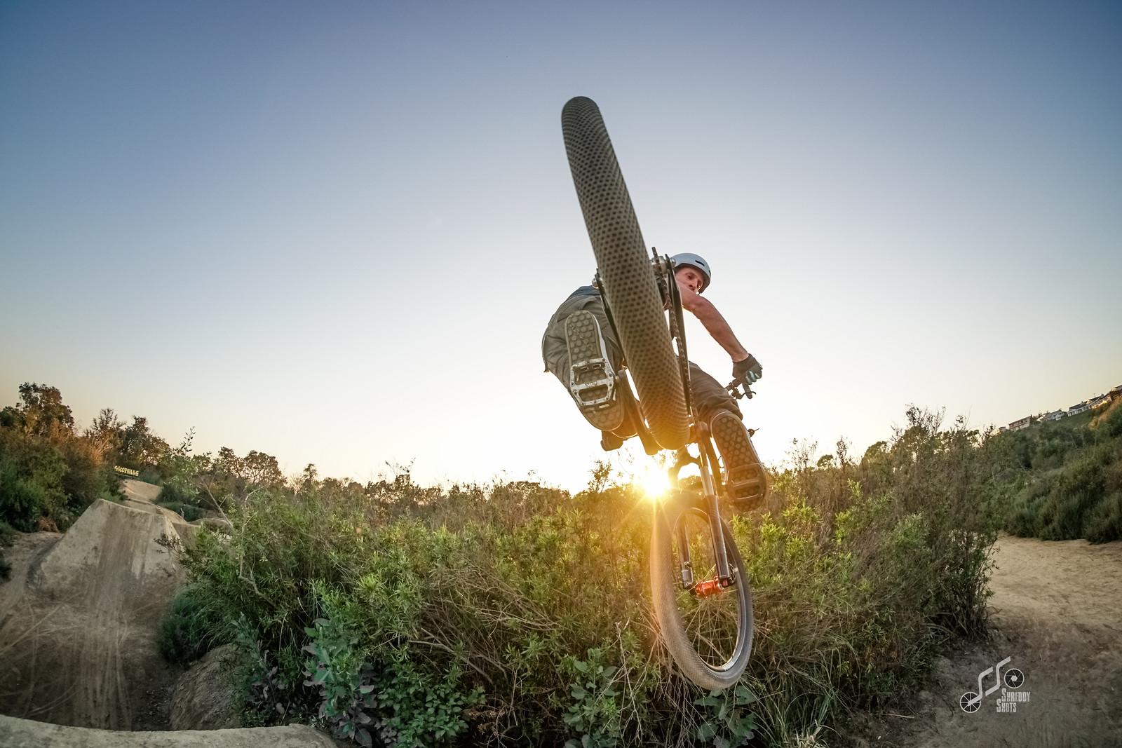 Brian all rear tire - shreddyshots - Mountain Biking Pictures - Vital MTB
