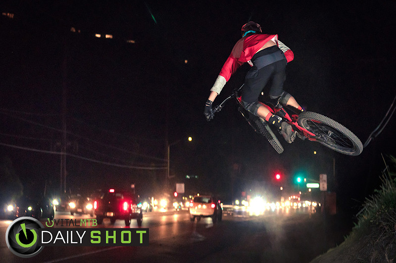 Night From Behind-3 - shreddyshots - Mountain Biking Pictures - Vital MTB