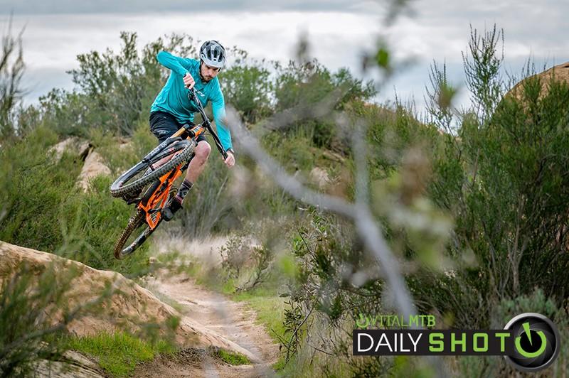 first rock jib - landscape-2 - shreddyshots - Mountain Biking Pictures - Vital MTB