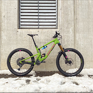 2021 Santa Cruz Nomad Watermelon Machine