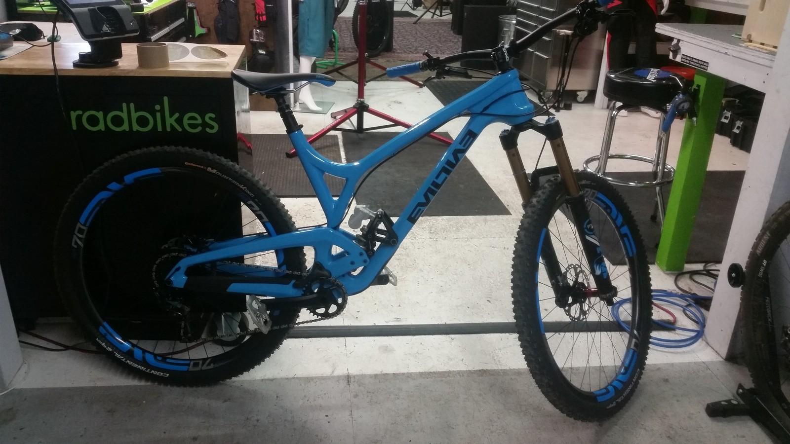 Rad Bikes Mt's Evil