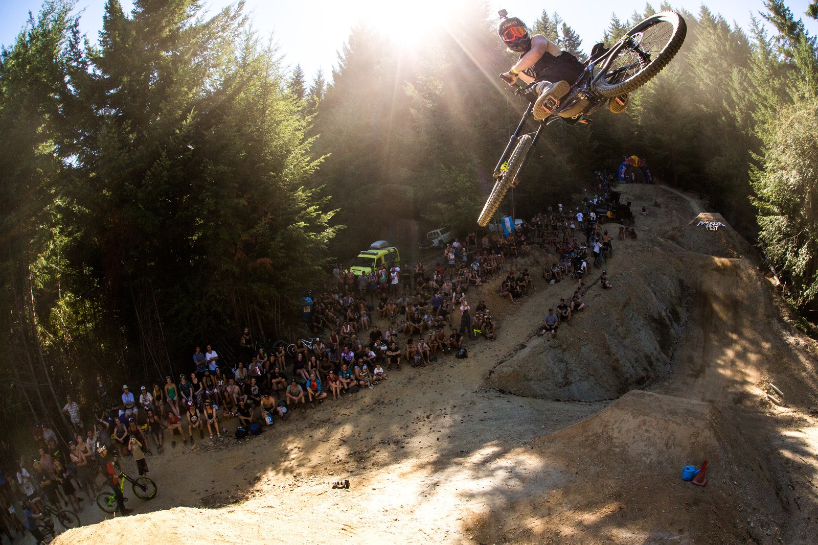 Blasting for McGarry, Joel Tunbridge - McGazza Fest Dream Track Jam - Mountain Biking Pictures - Vital MTB