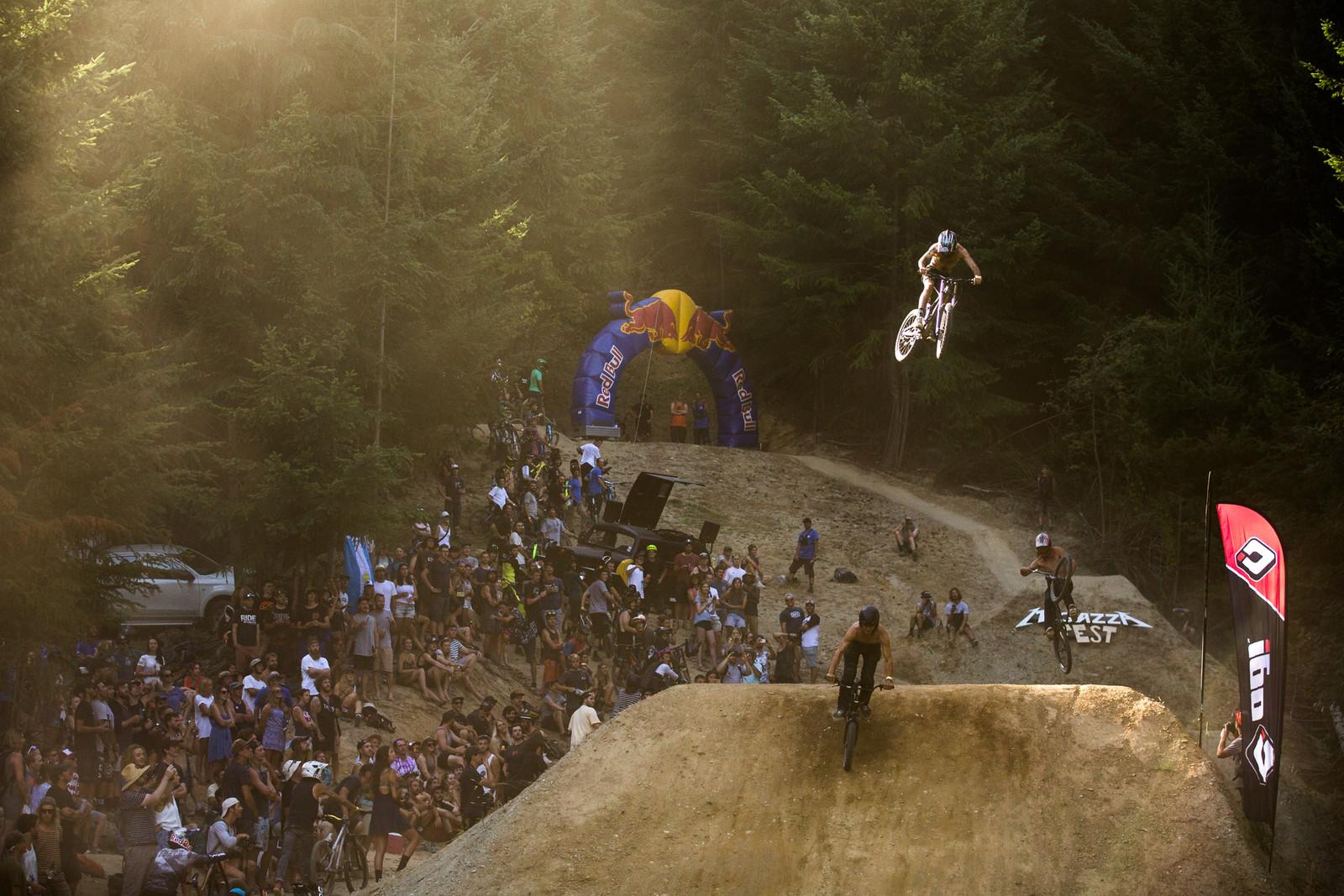 No shirt, no problem - McGazza Fest Dream Track Jam - Mountain Biking Pictures - Vital MTB