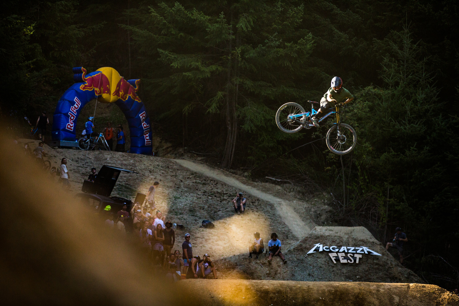 Laurie Greenland - McGazza Fest Dream Track Jam - Mountain Biking Pictures - Vital MTB