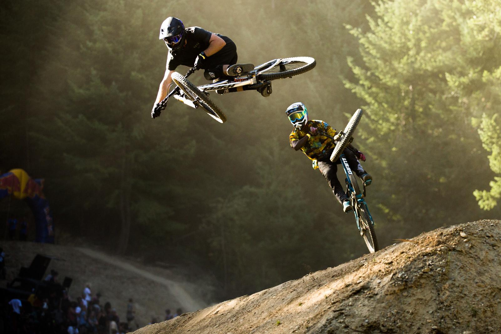 Bas and Eliot - McGazza Fest Dream Track Jam - Mountain Biking Pictures - Vital MTB