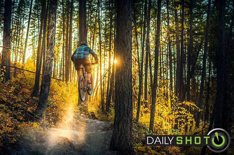 Golden Hour Gap - marc_obrien - Mountain Biking Pictures - Vital MTB