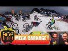 MEGA CARNAGE at MEGAVALANCHE 2017 Alpe d'Huez - Multi Cam w/ Commentary
