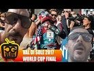VAL DI SOLE DH WORLD CUP 2017 - Best Seat in the Finish Line - CG VLOG #226