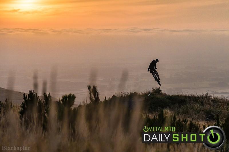 Tom Dawe - Airtearoa Sunset - specializedphotog - Mountain Biking Pictures - Vital MTB