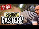 Is slow fast? Flowing in Gesunda Bike Park