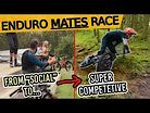 From SOCIAL to SUPER COMPETETIVE in 2 Seconds // Gravity Escapades Social Enduro 2019