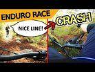 "From ""NICE LINE"" To CRASH In 2 Seconds | MTB Enduro Race SBR#49 Nackenduro"
