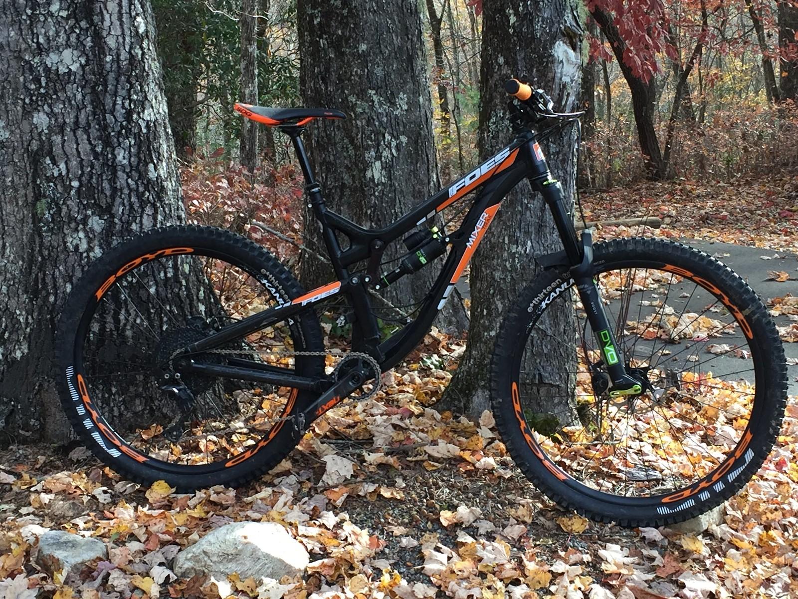 Foes Mixer Trail Rider Eddie R