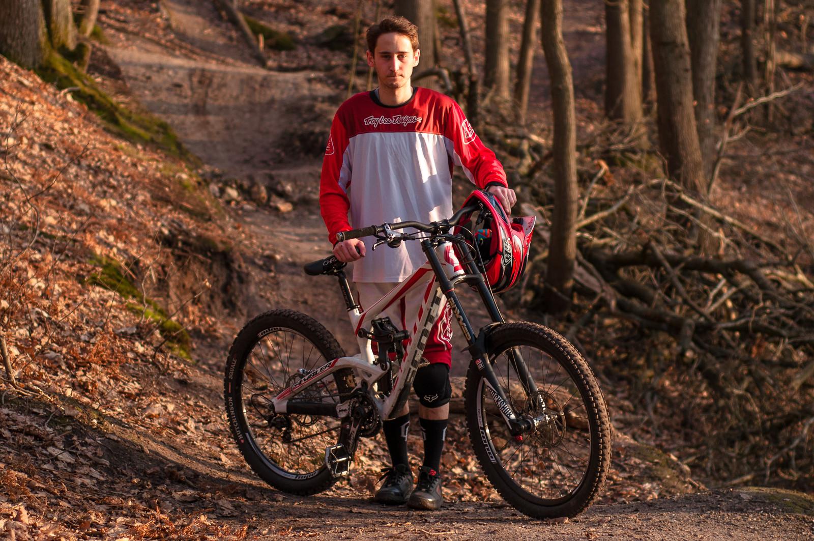 Me and my gambler - Romuald_Manach - Mountain Biking Pictures - Vital MTB