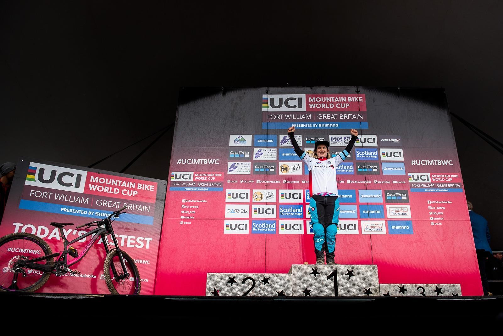 UCI DH World Cup #2 Fort William 2017_4 - Bluegrass Eagle - Mountain Biking Pictures - Vital MTB