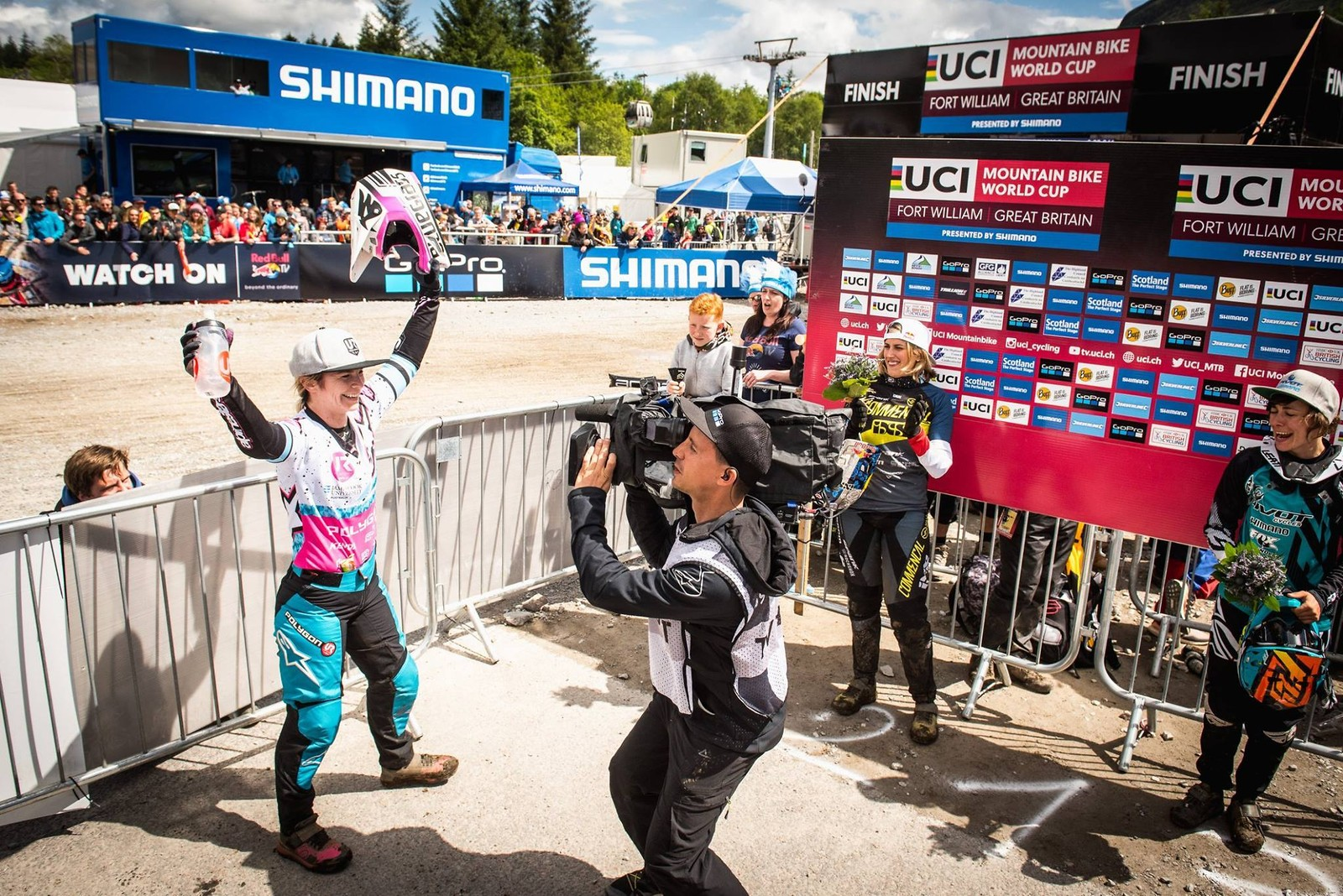 UCI DH World Cup #2 Fort William 2017_6 - Bluegrass Eagle - Mountain Biking Pictures - Vital MTB