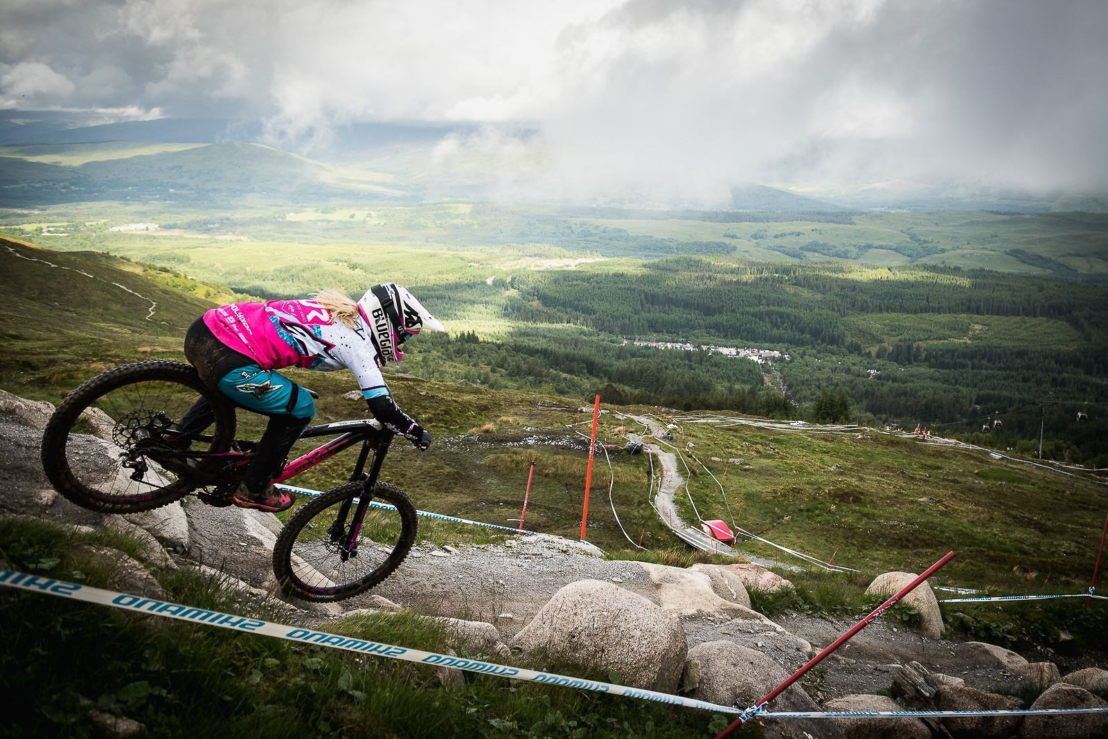 UCI DH World Cup #2 Fort William 2017_2 - Bluegrass Eagle - Mountain Biking Pictures - Vital MTB