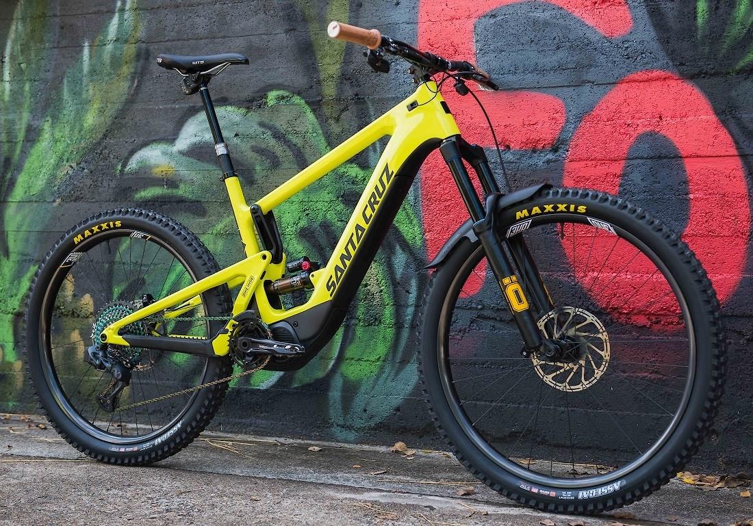 Santa Cruz Heckler - Not So Mellow Yellow