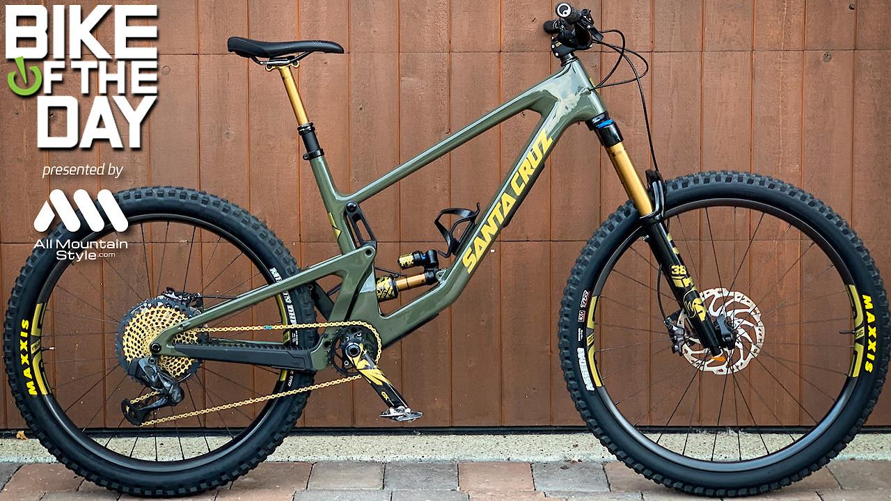 2022 Santa Cruz Bronson Custom