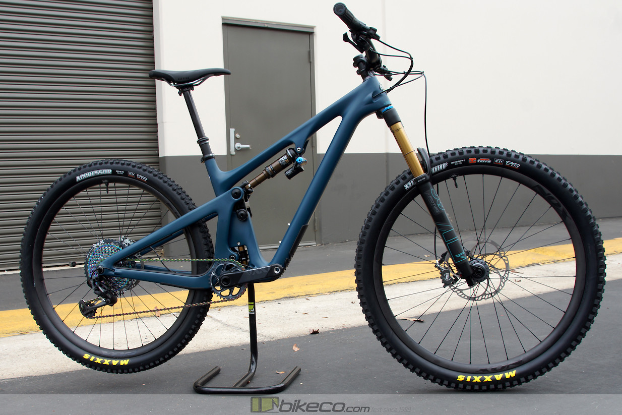 Yeti SB130 Lunch Ride Custom XX1 build by BikeCo.com. The 2020 Yeti Storm color is simply next level!
