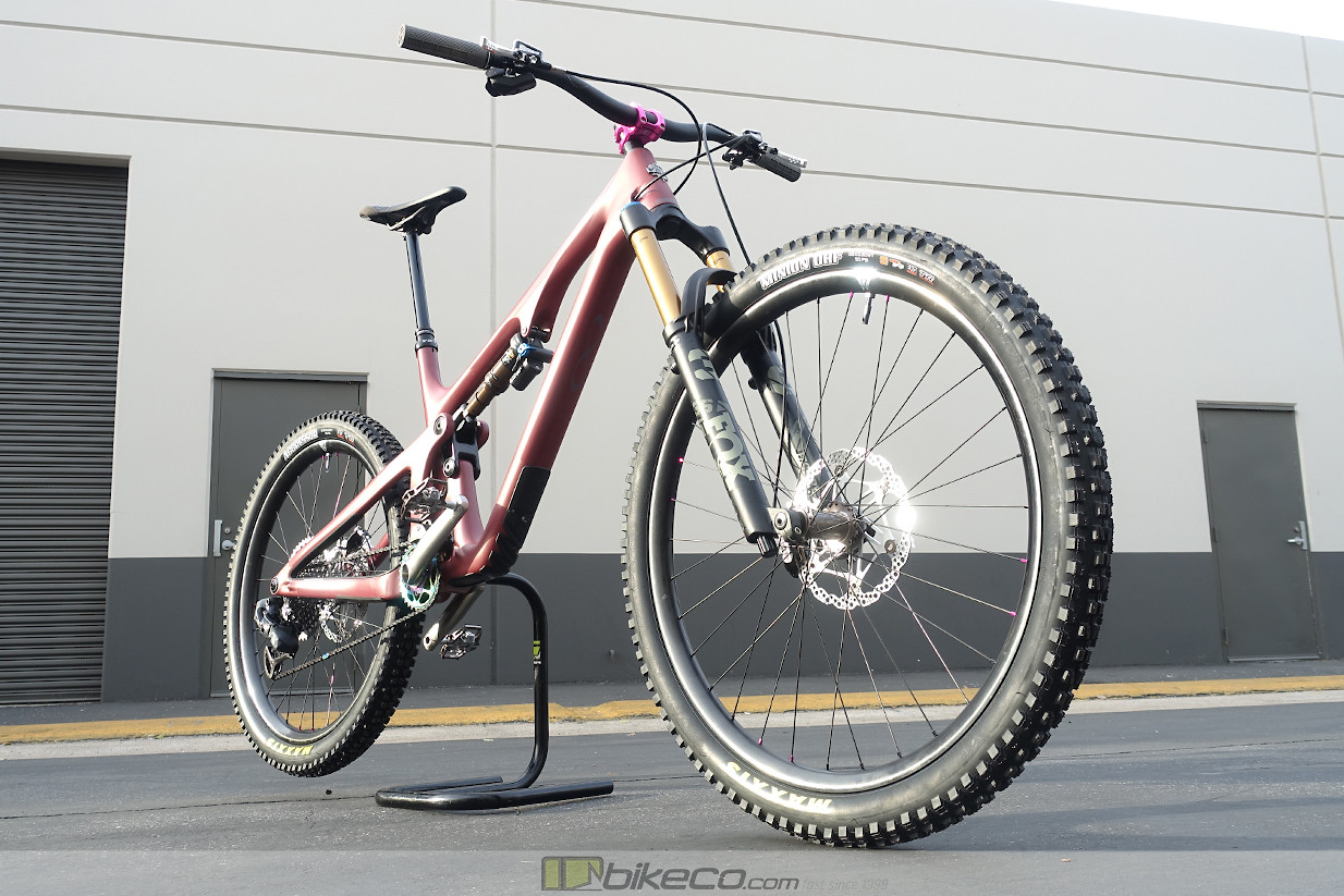The Yeti SB140 Mullet is a shop favorite here at The Bike Company. Reducing the travel slightly on the fork allows us to produce a better handling bike with a personality closer to the Yeti design while taking advantage of the roll over and personality advantages of the bigger wheel.