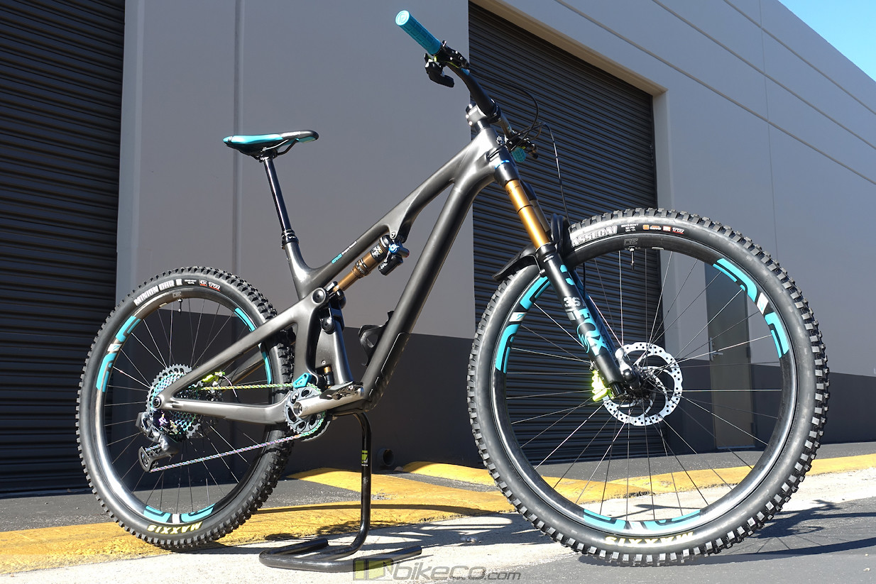 Another Yeti SB130 Lunch Ride is about to head to it's new home... This bike features ENVE, SRAM AXS, Magura Brakes, Cane Creek eeWings titanium cranks and more.