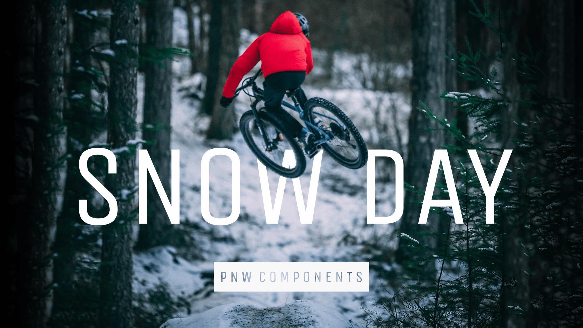 Mark Matthews Shreds a Snow Day