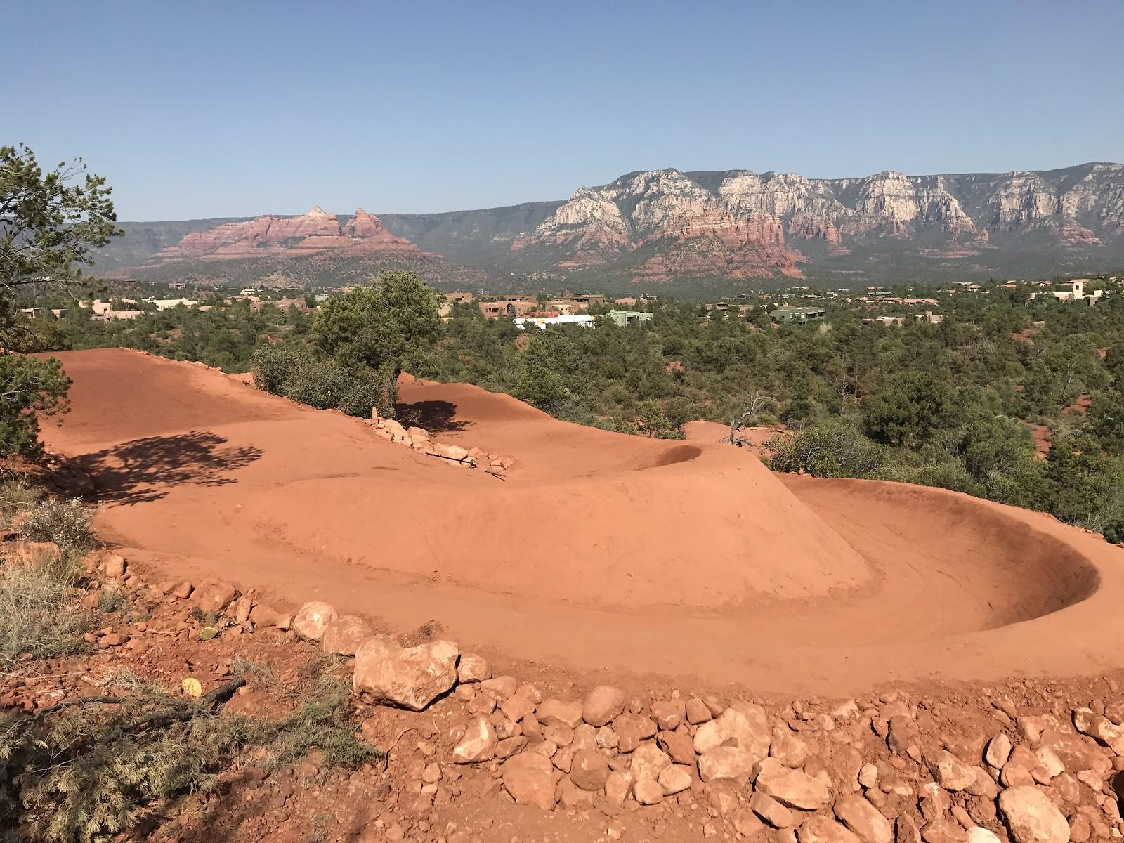 Sedona Arizona dual slalom track - McGill Trail Fabrication - Mountain Biking Pictures - Vital MTB