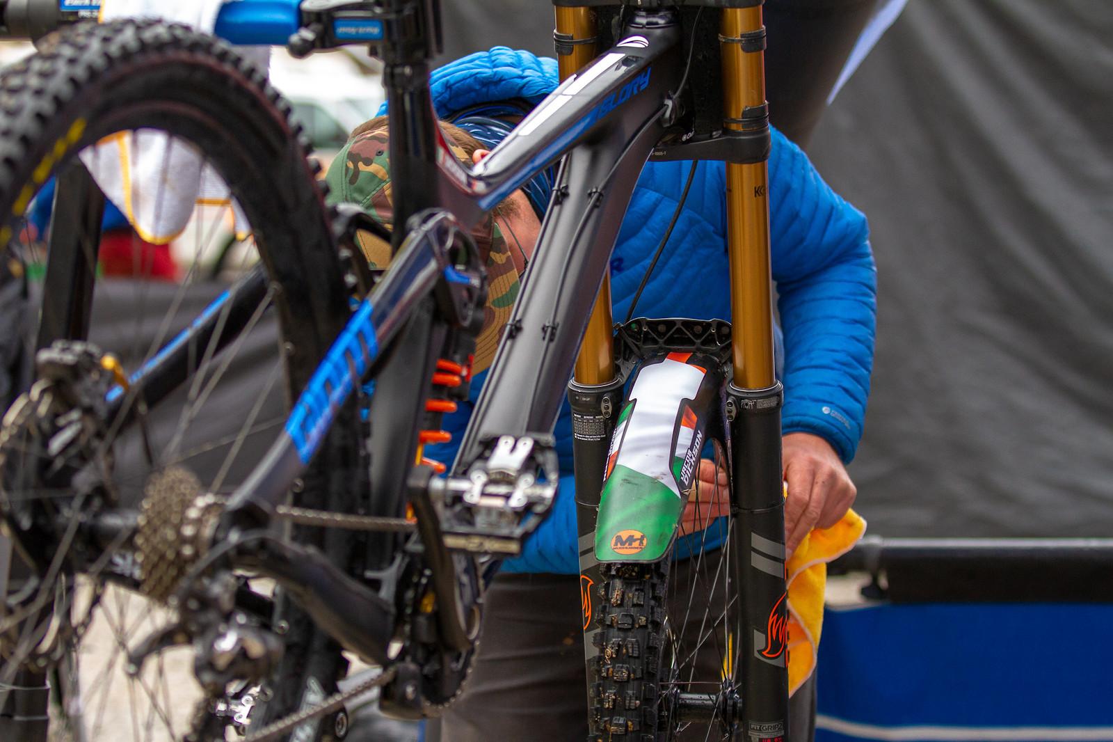 Jacob Dickson's Irish Mudhugger Fender - JackRice - Mountain Biking Pictures - Vital MTB