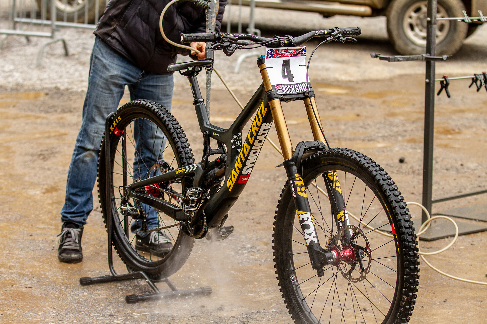 Luca Shaw's Santa Cruz V10 - JackRice - Mountain Biking Pictures - Vital MTB