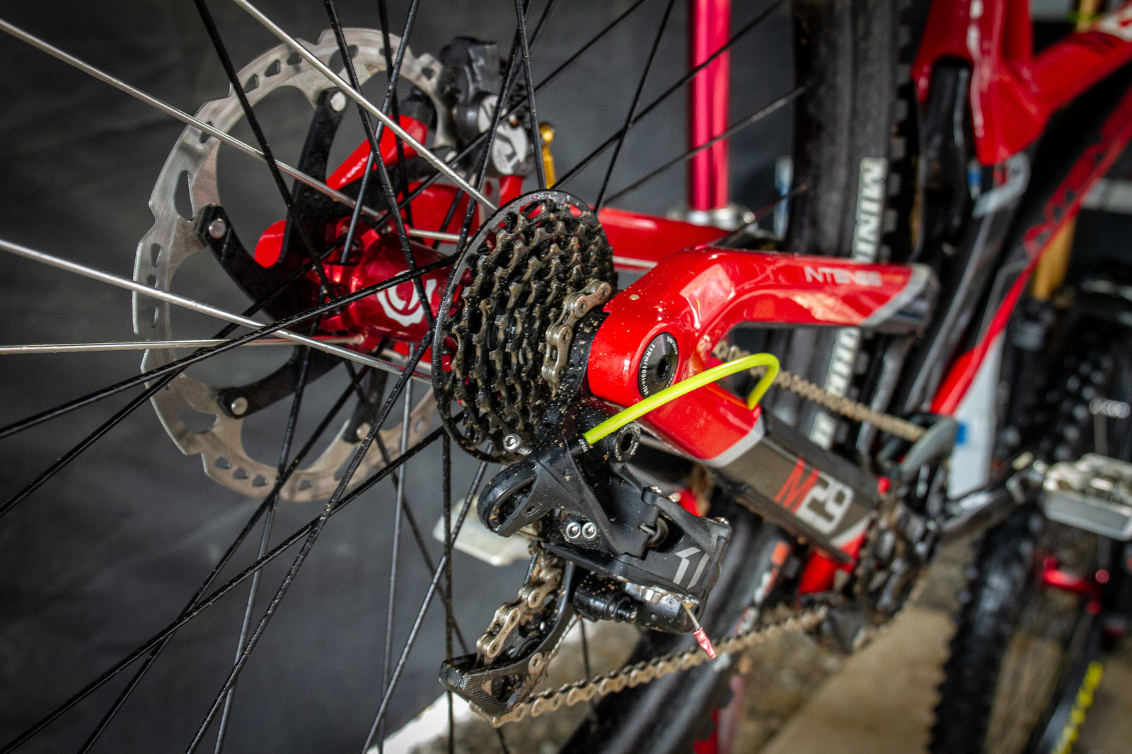 Isaac Allaire's Housing - PIT BITS - 2019 Windrock Tennessee National Pro GRT  - Mountain Biking Pictures - Vital MTB