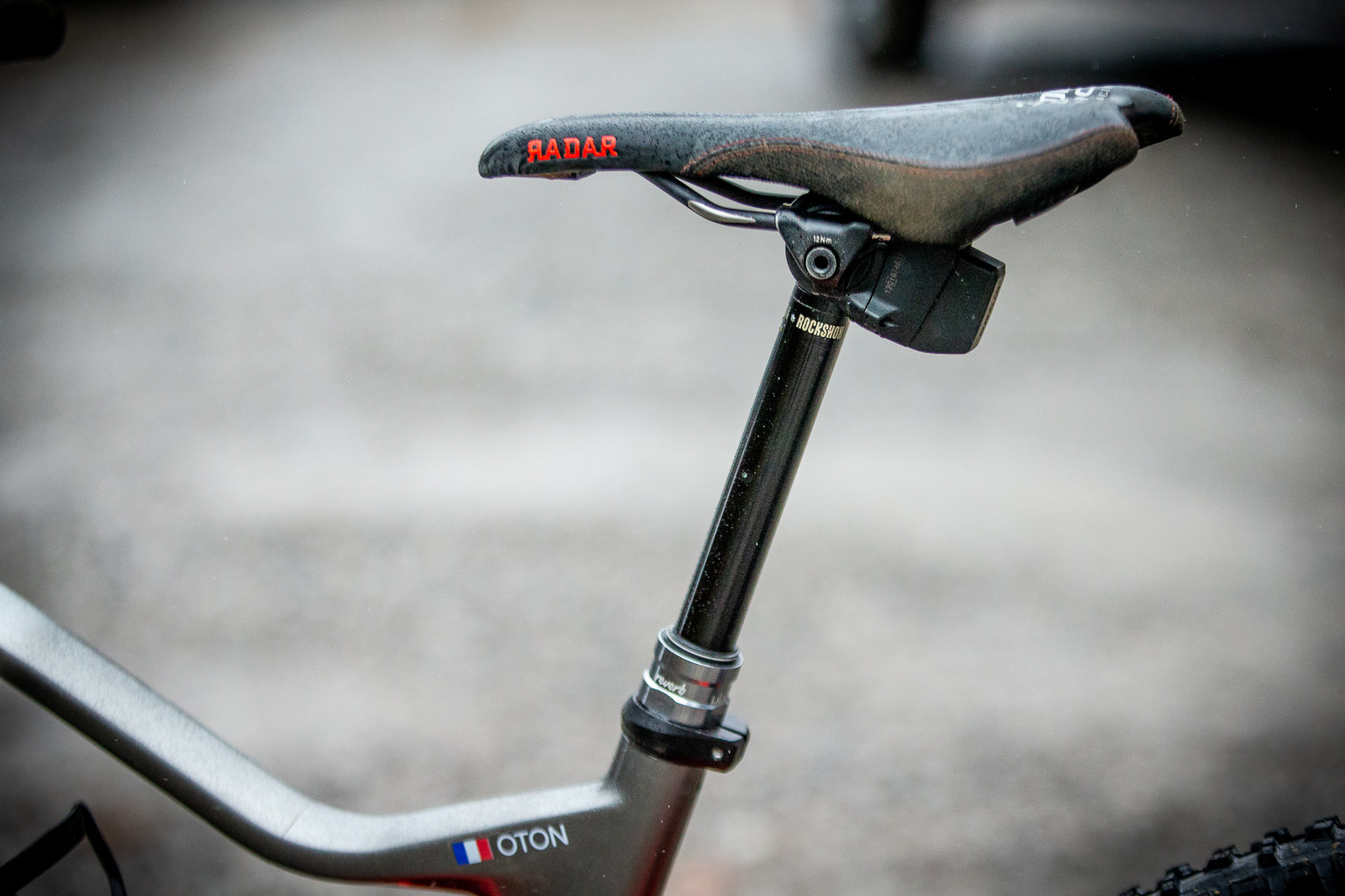 Damien Oton's Reverb AXS - PIT BITS - 2019 Windrock Tennessee National Pro GRT  - Mountain Biking Pictures - Vital MTB