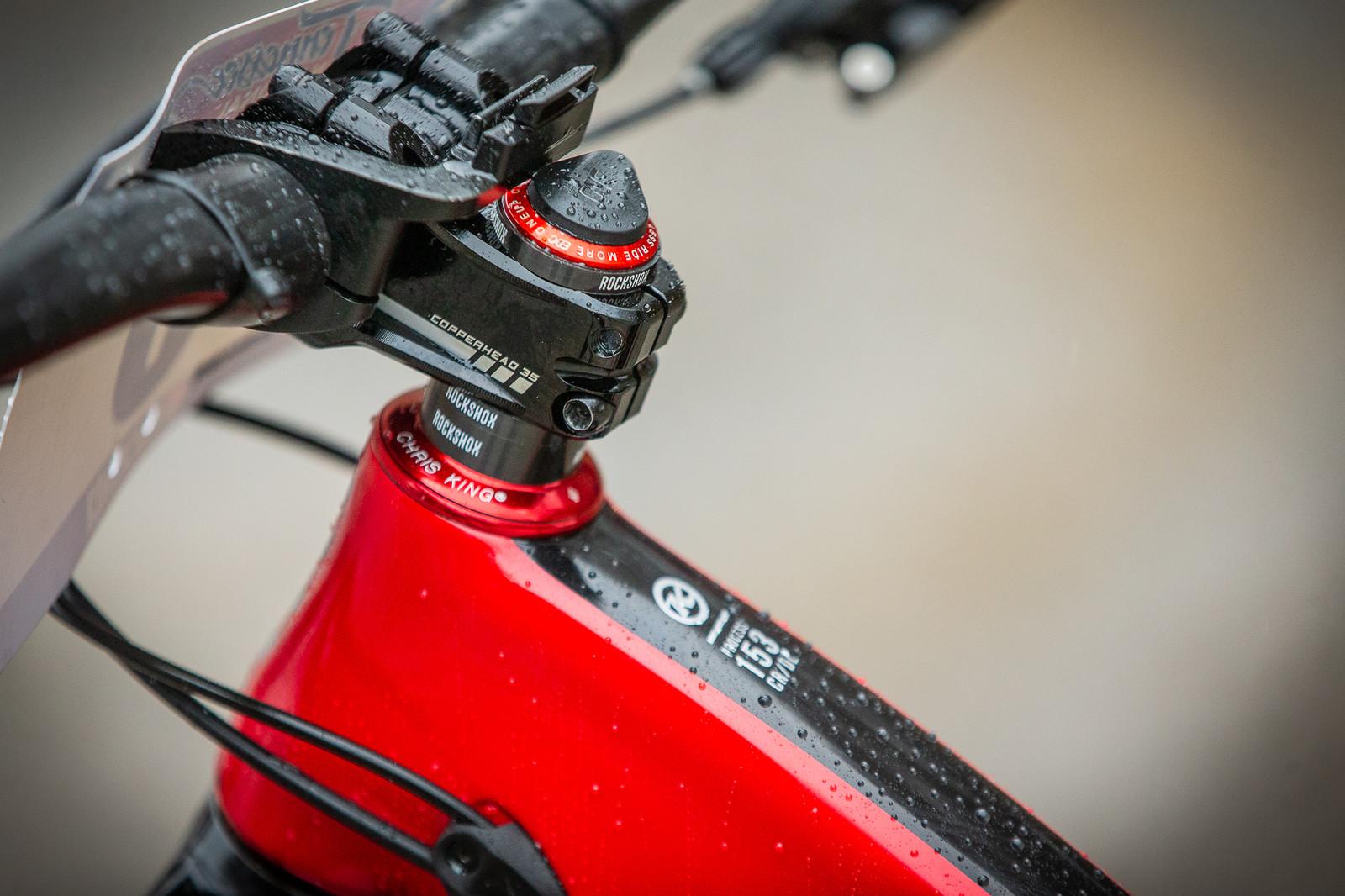 Miranda Miller's Cockpit - PIT BITS - 2019 Windrock Tennessee National Pro GRT  - Mountain Biking Pictures - Vital MTB