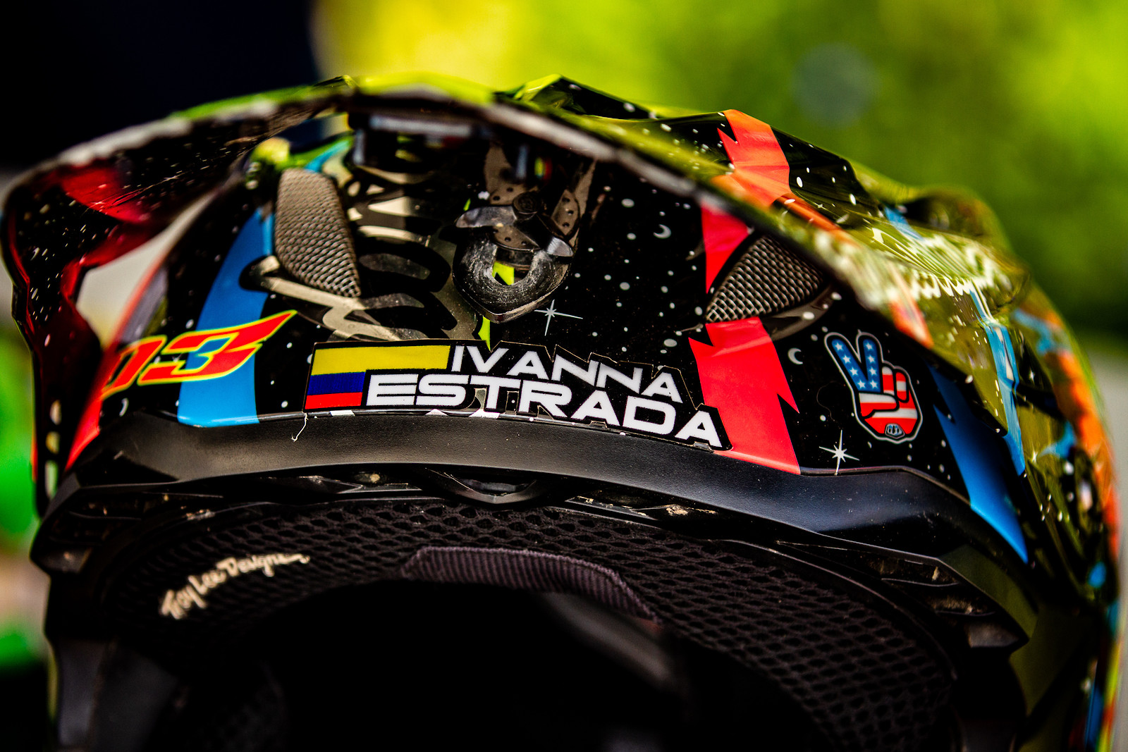 Ivanna Estrada's Troy Lee D3 - JackRice - Mountain Biking Pictures - Vital MTB