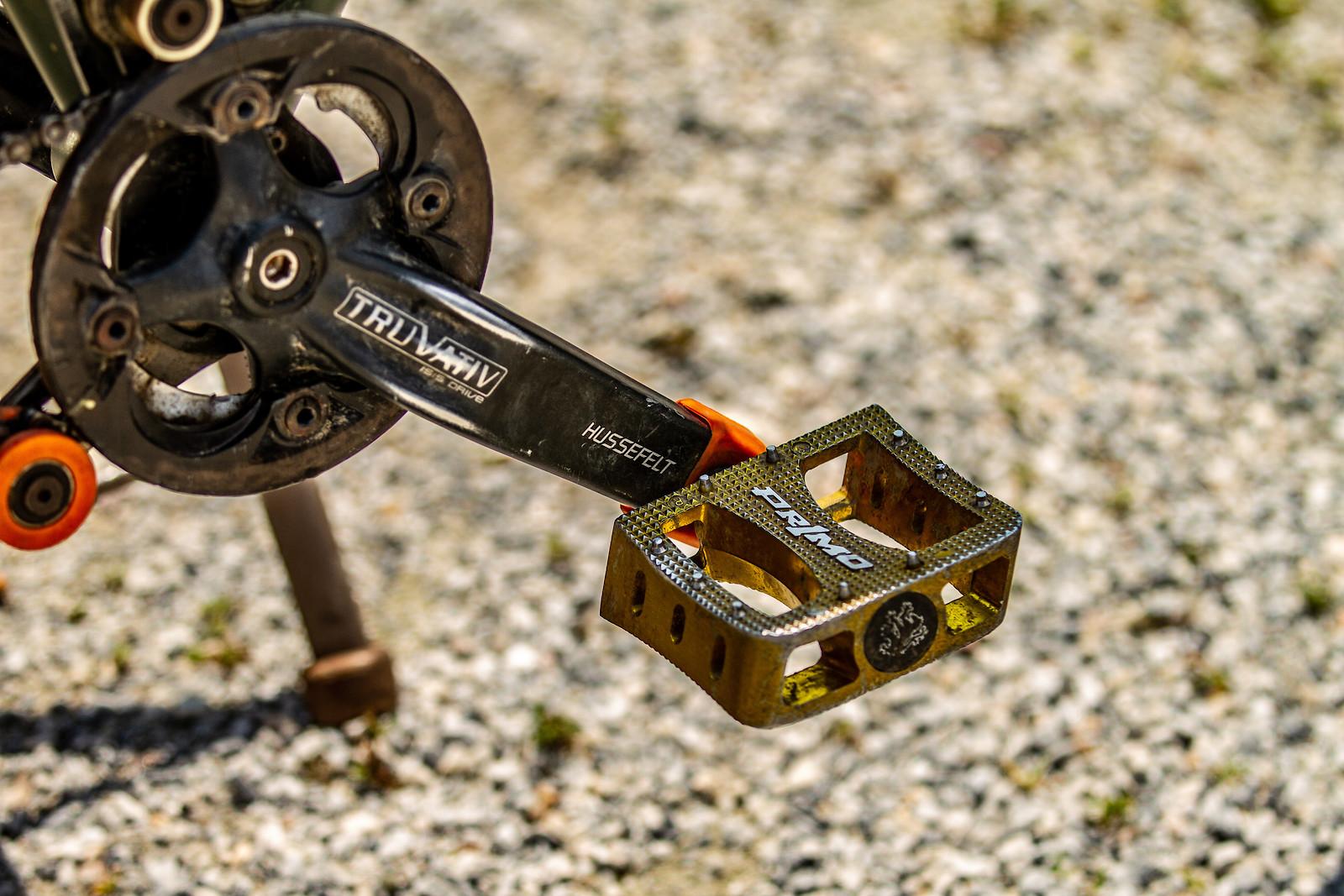 Primo Pedals on Hussefelt Cranks - JackRice - Mountain Biking Pictures - Vital MTB