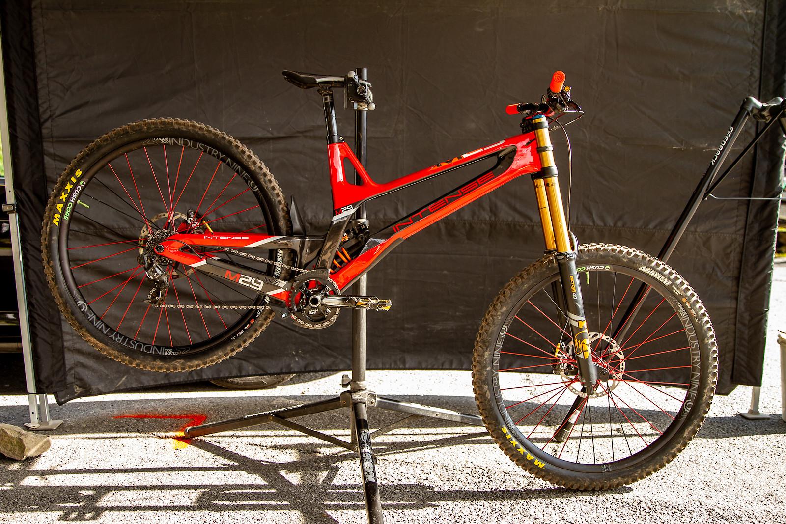 Steve Estabrook's Intense M29 - JackRice - Mountain Biking Pictures - Vital MTB