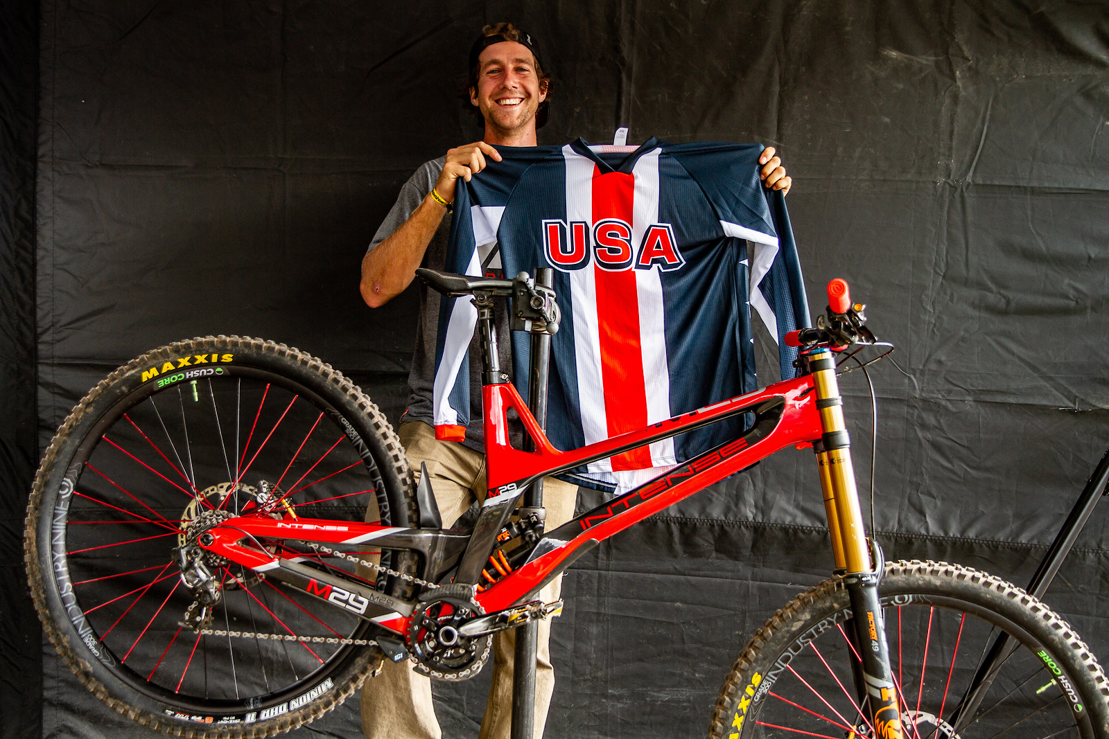 #USDH PIT BITS - Snowshoe World Cup Downhill - Steve Estabarook - JackRice - Mountain Biking Pictures - Vital MTB