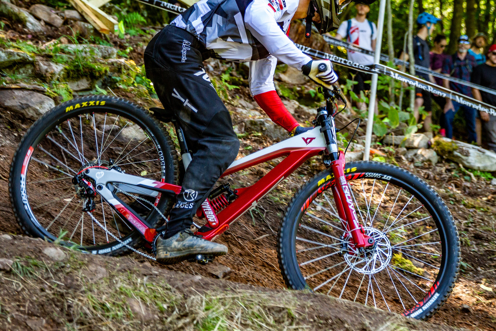 G-Out Project - Snowshoe World Cup Downhill - David Trummer - JackRice - Mountain Biking Pictures - Vital MTB
