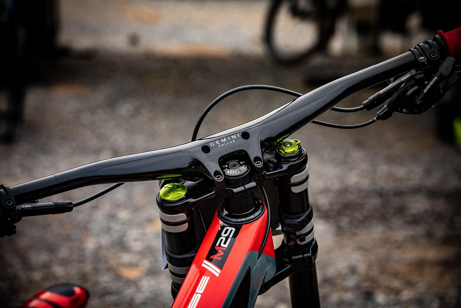 PIT BITS - Windrock U.S. National DH - Gemini Pollux Bar-Stem Combo - JackRice - Mountain Biking Pictures - Vital MTB