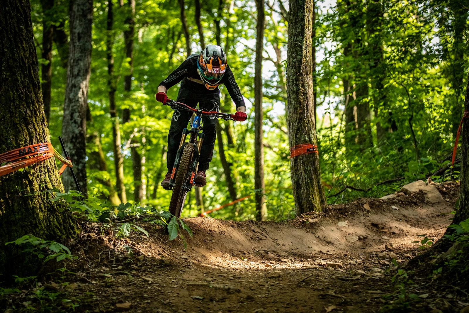 Single crowning the lip - JackRice - Mountain Biking Pictures - Vital MTB