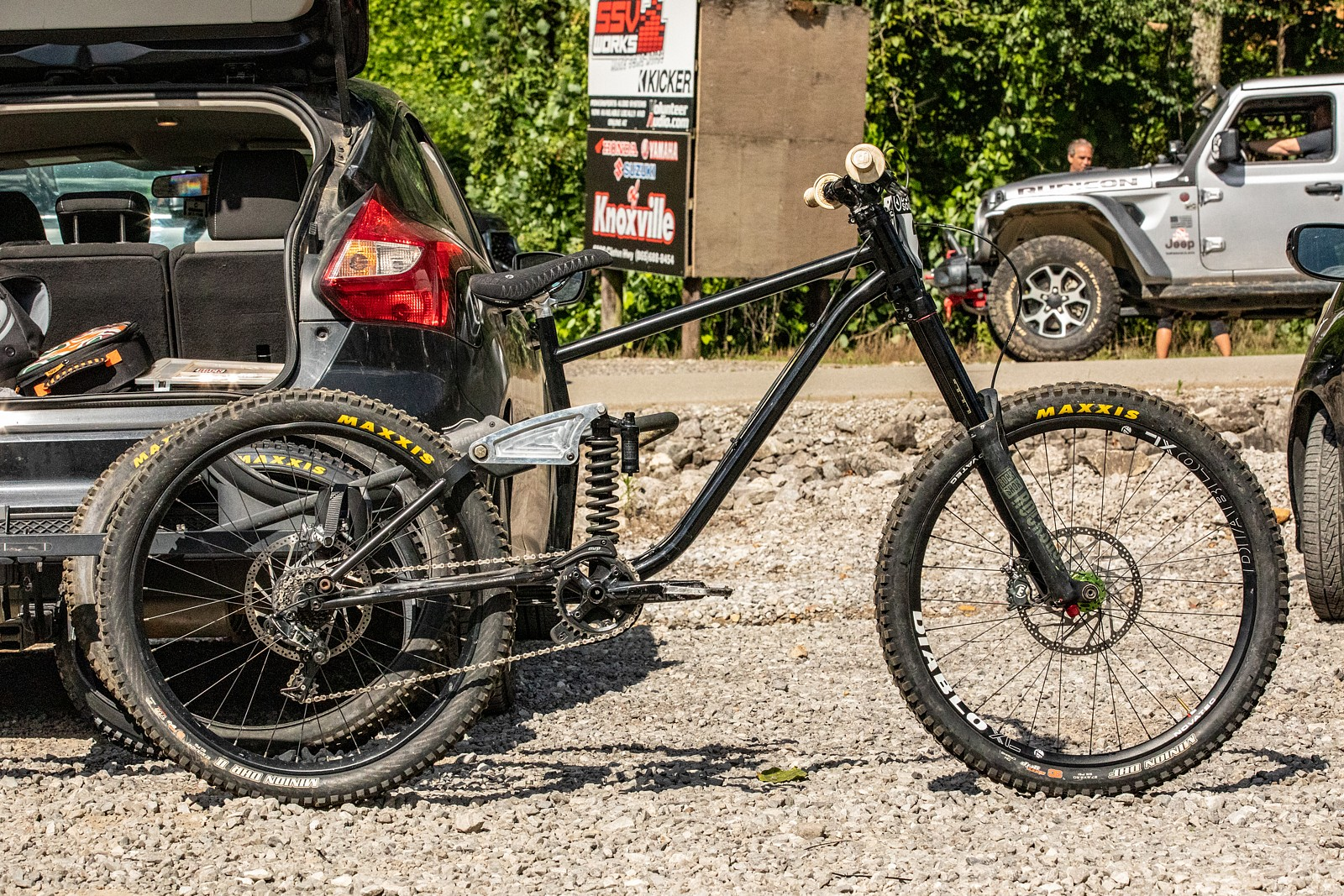 PIT BITS and RACE REPORT - DHSE Round 2 - Isak Leivsson's newest build - JackRice - Mountain Biking Pictures - Vital MTB