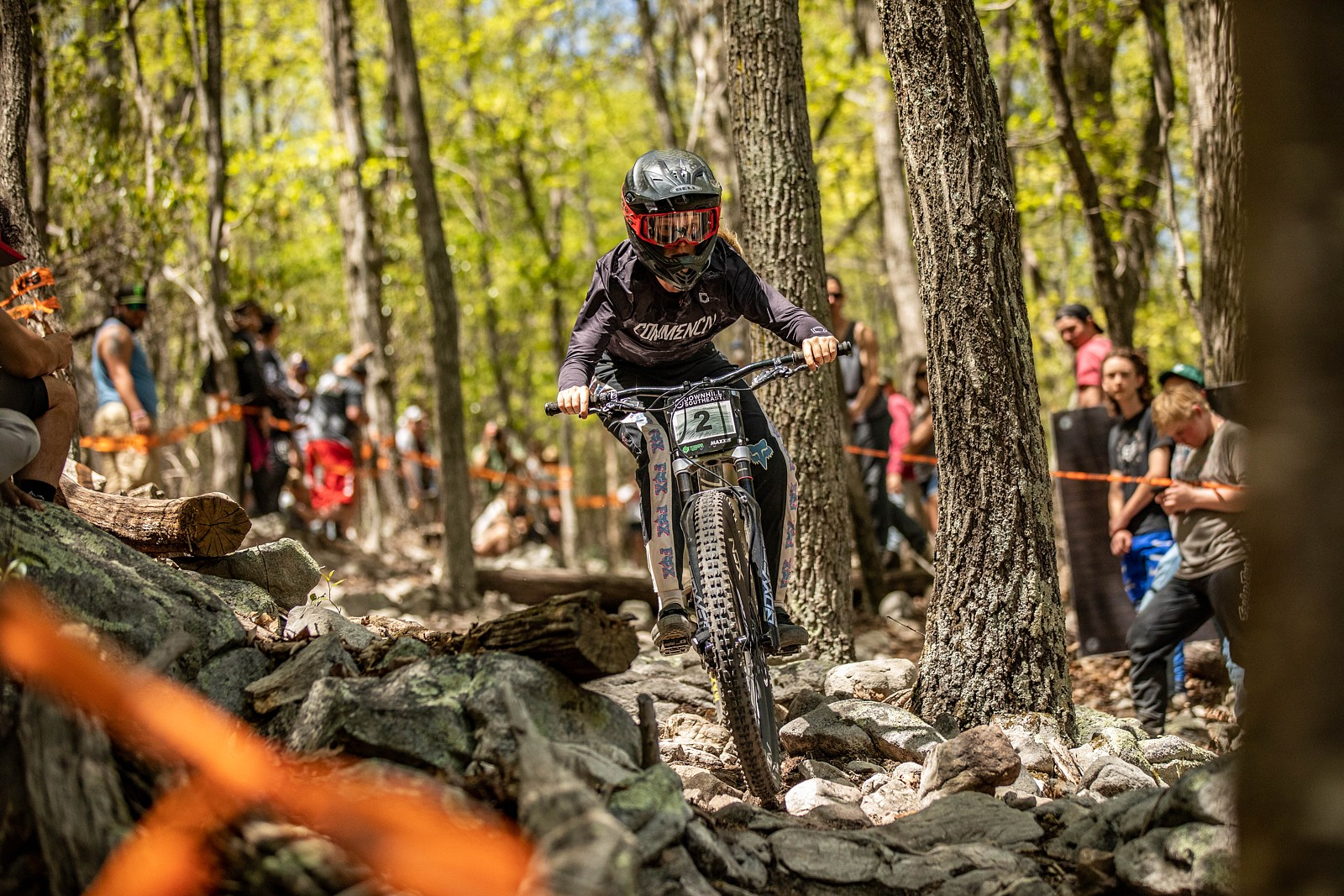 Frida Ronning - 1st Place, Downhill Southeast Round 1 - Massanutten - JackRice - Mountain Biking Pictures - Vital MTB