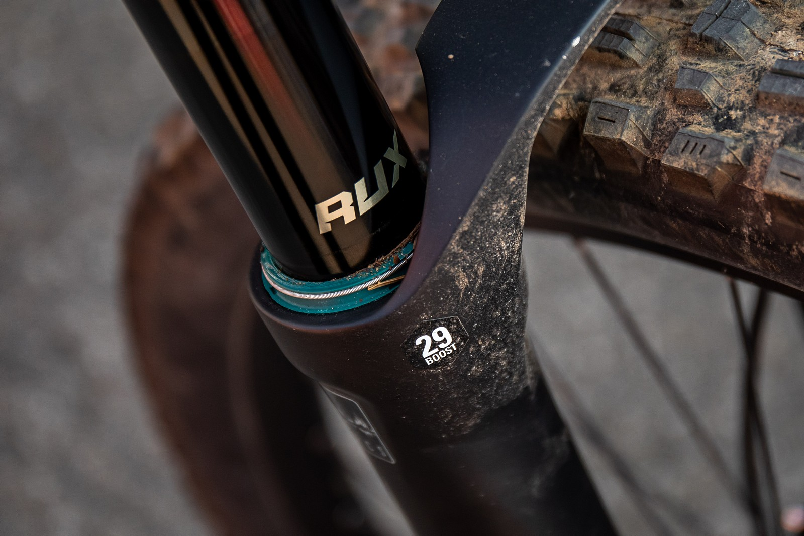 NEW SR Suntour RUX EQ air system fork  - JackRice - Mountain Biking Pictures - Vital MTB