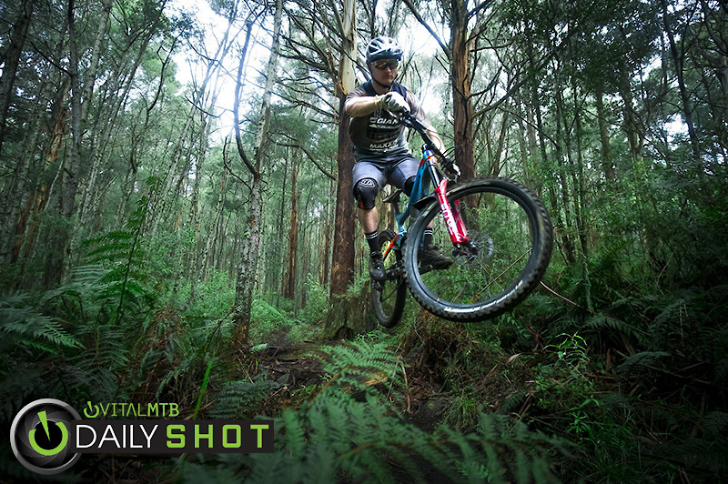 Flying Over Fern - Howie286 - Mountain Biking Pictures - Vital MTB