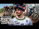 ROB MEETS LOÏC BRUNI - THE KING OF DOWNHILL